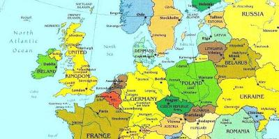 Luksemburg Mapa Mapy Luksemburg Europa Zachodnia Europa